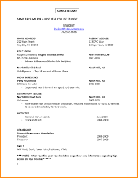 100 Extra Curricular Activities For Resume Curricular Template College