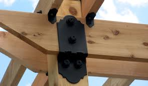 Black Decorative Joist Hangers by Ozco Building Products Rafter Clips And Inside Ties Hoover
