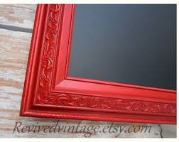 LARGE CHALKBOARDS For KITCHEN Magnetic 54x30 Red Kitchen Decor Tuscan Home