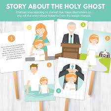 Primary 2 CTR Lesson 13 The Gift Of Holy Ghost Can Help Me