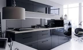 cuisine gris et noir cuisine gris noir affordable meuble de cuisine gris clair pour