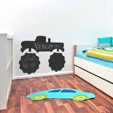 100 Monster Truck Wall Decals Black Chalkboard Decal