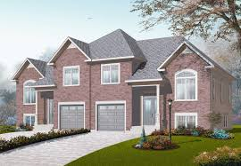 Photos And Inspiration Multi Unit Home Plans by Front Elevation These Multi Unit Home Plans Building Plans