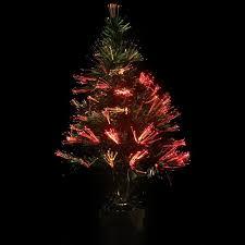 60Cm Led Fiber Optic Christmas Tree Lights Colorful Changing