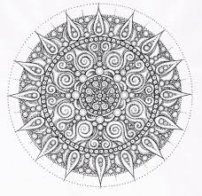 Trends Coloring Online Mandalas For Pages 1000 Images About On