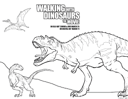WalkingwithDinosDVD For Name Coloring Pages Printable