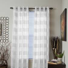White Grommet Curtains Target by Amazon Com Lavish Home Sofia Grommet Single Curtain Panel 84