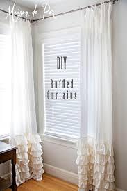 Cheap 105 Inch Curtains by Best 25 Ruffled Curtains Ideas On Pinterest Ruffle Curtains
