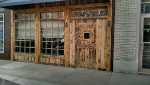 Explore Farmhouse Front Doors Rustic And More Barndoor 13th Street Restaurant Pinterest