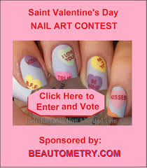 11 best Beautometry Saint Valentine s Day Nail Art Contest