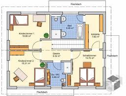grundriss einfamilienhaus 166 qm dachgeschoss haus