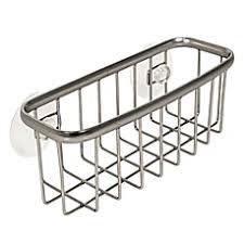Simplehuman Sink Caddy Suction Cups by Kitchen Sponge Holders Sink Caddies U0026 Organizers Bed Bath U0026 Beyond
