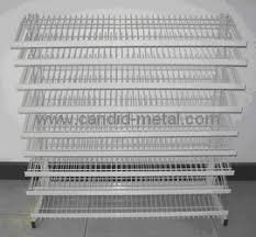 Oem Wire Display Pop Rack Candy Retailer Storage Fixture Shelving