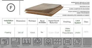 Forna Vinyl Cork Flooring Details
