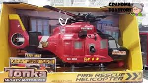 Unboxing TOYS Review/Demos - Tonka Fire Department Rescue Helicopter ... Tonka Mighty Motorized Vehicle Fire Engine 05329 Youtube Motorised Tow Truck 3 Years Costco Uk Titans Big W Amazoncom Ffp Toys Games Buy Online From Fishpondcomau Redyellow Friction Power Fighter Rescue Toy In Cheap Price On Alibacom Ladder Siren Lights Sound Tonka Mighty Motorized Emergency Crane Raft Firefighter Fingerhut Funrise Garbage Real Sounds Flashing
