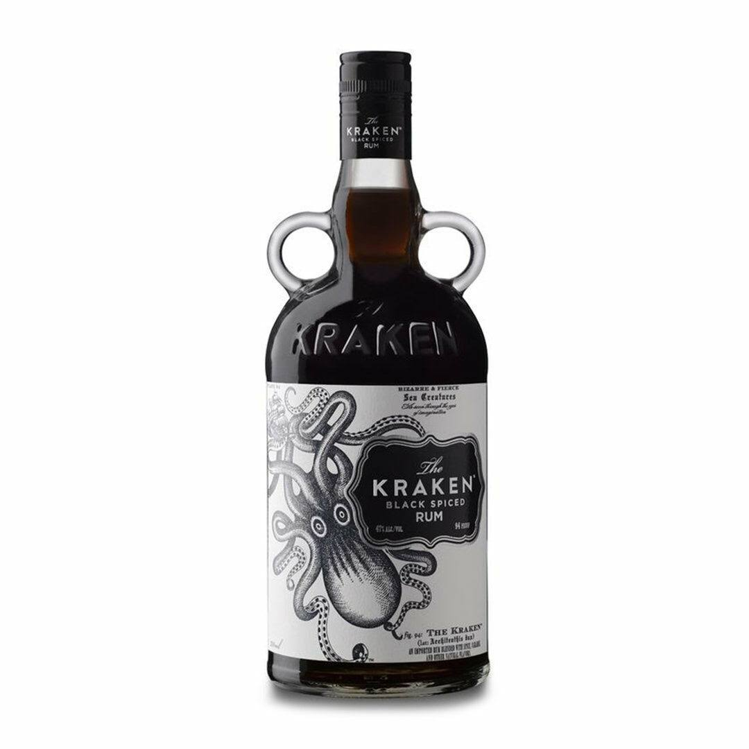 The Kraken Black Spiced Rum - 700ml