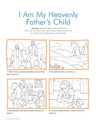 Plan Creation And Family Print Out 2 Scripture Praying Child Church 3 Home 4 Christ With Children Color Cut The