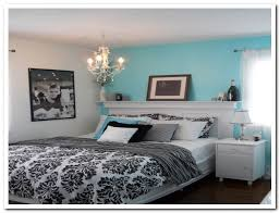 Black and white and blue bedrooms Video and s