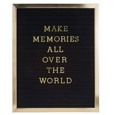 Letter Board Blackgold HOUSE Of IDEAS Oriental Accessories And