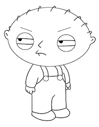 Coloring Page Family Guy Cartoons 8