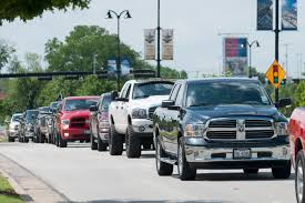 100 Texas Trucks World Record Parade Of Pickup Set In Where Else Off
