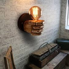 industrial wall light fixture resin retro wall ls for house bar