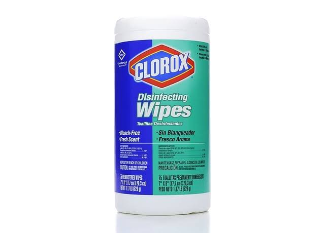 Clorox Fresh Scent Disinfecting Wipes - 75ct