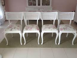 esszimmer stühle shabby chic landhaus stil 4x in 46485 wesel