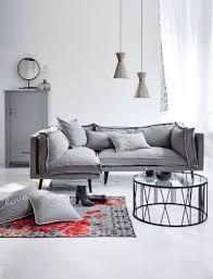 kasandria sofa meliert grau rechts wohnzimmer