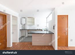 100 Small One Bedroom Apartments Kitchen Empty Apartment RoyaltyFree