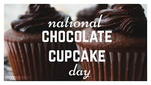 October 18th Is National Chocolate Cupcake Day