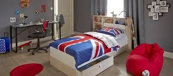 meuble but chambre lit blanc couronne adulte