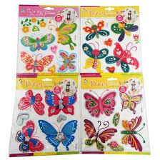 Butterflies Room Decor 3d Multilayer Stickers