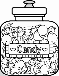Sweets Candy Coloring 7