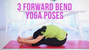3 Forward Bend Yoga Poses