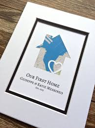 Our First Home Gift For Families Family Personalized