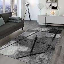 wohnzimmer teppich abstraktes design industrial
