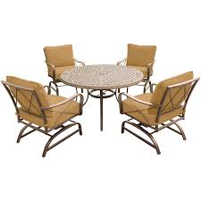 Hanover Summer Nights 5pc. Outdoor Dining Set - Sears ... Matts Outdoor Rocking Chair With Set Of 2 White Cushions Fniture Lounge Nursing Australia Ikea Glider Amazoncom Firstime Co 70079 Morissey Wireframe Us Army Fully Assembled Chair Hanover 3 Pc Oil Rubbed Bronze Bistro Ace Hdware 2432 41 Offleyden Finish Brass Wall Mounted Sopa Dish Black Soap Holder Box Kitchen Lavaory Bathroom Accsories In Homcapes 48210 Zinc Deco Hooks Small Mainstays Oilrubbed Ding Multiple Colors Oil Rubbed Bronze Refurbaddict Pop 68 Tree Lamp
