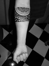Maori Bracelet Forearm Tattoos Design Ideas
