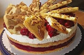 spekulatius kirsch torte knusperflocken chefkoch