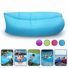 canap hamac air gonflable hangout sofa sac chaise hamac lit canapé couchage