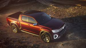 Volkswagen Introduces Atlas Tanoak Pickup Truck Concept - The Drive