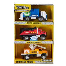 100 Tonka Mini Trucks TOUGHEST MINIS 3 Pack Urban