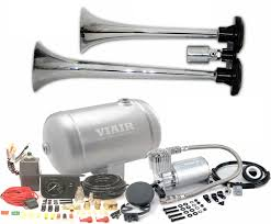 LOUDEST Truck Train Air Horn Kits   VIAIR Compressor Tank   Best Fisa Musical X5 Air Horns Suits Carvantruck Col Bogey River Wolo Philly Express Horn Free Shipping On All Train Model Hk2 Dual Truck Kit Kleinn By Grover Emergency Marine Amazoncom Super Loud Trumpet 140db Viair Horn 12 And 24 Volt 4 Trumpet Air Loudest Kleinn 159db 125 The Dominator Stainless Steel Horns Of Texas 21 Emergency Youtube Howard County Fire Rescue Engine 61 Responding Q Install Docs Tech 12v Truck
