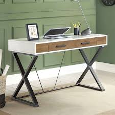 whalen samford contemporary computer desk with pull out keyboard