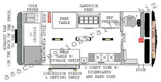 100 Food Truck Dimensions 14 Foot Plan Truckconcession Trailer In 2019