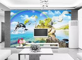 fototapete modernen kinder tapete malen foto seaside landschaft tapeten 3d wohnzimmer schlafzimmer tapeten