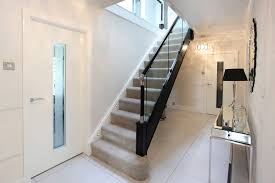 Best Ideas Of Staircase Gallery One Stop Stair Shop With Glass ... Stairs Amusing Stair Banisters Baniersglsstaircase Create Unique Metal Handrailings With Pinnacle Staircase And Hall Contemporary Artwork Glass Banister In Best 25 Glass Balustrade Ideas On Pinterest Handrail Wwwstockwellltdcouk American White Oak 3 Part Dogleg Flight Frameless Stair Railing Elegant Safety Architecture Inspiring Handrails For Beautiful Amusing Stright Banister With Base Frames As Decor Tips Cool Banisters Ideas And Newel Detail In Brown