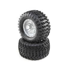 100 Truck Tired Losi TENACITY Monster Tires LOS43021 Tires Wheels RC Planet