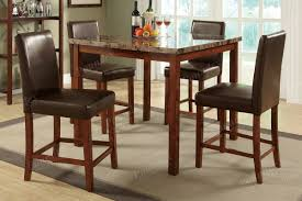 5 Piece Oval Dining Room Sets by Dining Table And 4 Chairs